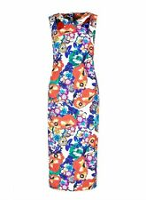 M&S Per Una Speziale Floral Bodycon Dress in Size UK20/EUR48 BNWT