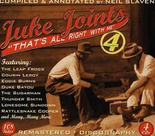 Juke Joints 4-Thats All Right With Me - Juke Joints 4-That's All (2013, CD NEUF)
