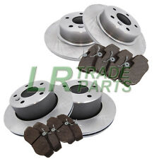 LAND ROVER DISCOVERY 2 TD5 & V8 FRONT AND REAR BRAKE DISCS AND MINTEX BRAKE PADS