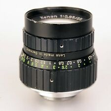 Schneider Kreuznach Xenon 1:0,95/25mm 25 mm. C- Mount Lens. Ser. Nr. 13287144