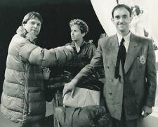 DIRECTOR TERRY GILLIAM JONATHAN PRYCE KIM GREIST BRAZIL 1985 PHOTO ORIGINAL