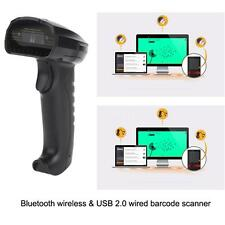 New BT wireless Barcode Scanner Bar Code Reader For IOS/Andriod iPhone Hot