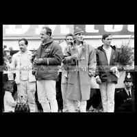 #pha.034378 Photo KEN MILES DENNY HULME CHRIS AMON 24 H DU MANS 1966 LE MANS '66