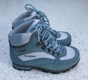 Brasher Hekla Goretex Blue Welking Hiking Boots Size 6.5UK EU40