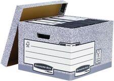 Bankers Box Large Grey Storage Box (Pack of 10) 01810-FFLP