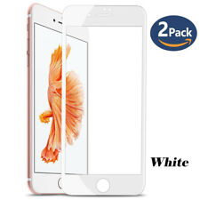 For iPhone 7 [2 Pack] Full Coverage 3D Curved HD Tempered Glass Screen Protector