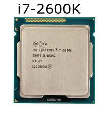 Intel Core i7-2600K CPU 3.4GHz LGA 1155 4Cores 32 nm PC Desktop Processor Used