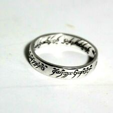 Silver Ring Lord of the Rings Lord of the Rings Sterling Silver Ring