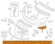 FORD OEM 13-17 Taurus Front Bumper-Side Cover Right DG1Z17E810AA