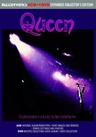 Queen Expanded Collector's Edition New Remasters 2 CD 1 DVD Case Set Music Rock