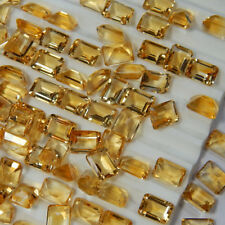 Natural Citrine 7x5mm Octagon Cut 5 Pieces Top Quality Loose Gemstone AU