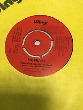 Wings - Hi, Hi, Hi / C Moon  = Label Variations Northern Songs Ltd / ATV Music