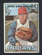 1967 Topps #3 Duke Sims VG/VGEX Indians 45464