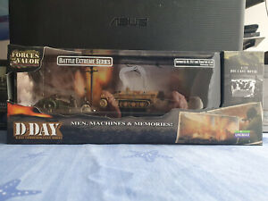 German Sd. Kfz. 251/1 and 75mm PaK 40 set Unimax Forces of valor - Normandy 1944