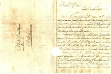 Lettera Autografo Maestro Architettura Giuseppe Manetti Acquisto Fondo Firenze