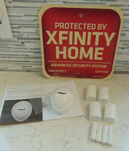 Lot of Xfinity Home Security Motion Detector Door Window Sensors Outdoor Sign