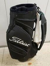 Titleist Cart/Staff Golf Bag 5 way Black Nice