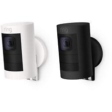 Anel Stick Up Cam Bateria Interno/Externo Câmera De Segurança-dois sentidos Falar & Sirene