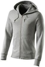 Nike Felpa per Allenamento Club Full Zip Giubbotto con cappuccio Giacca Casual 2xl DK Grigio/bianco