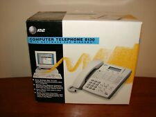 Vtg AT&T 8130 Computer Corded 2-Line Telephone/Phone for Windows - 1995 - NEW
