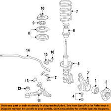 HONDA OEM Stabilizer Sway Bar-Front-Link 51320S5A003
