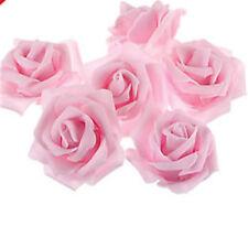 10-500pcs Colourfast Foam Roses Artificial Flower Wedding Bride Bouquet Party