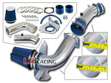 BLUE COLD AIR INTAKE + DRY FILTER FOR FORD 99-04 Mustang Base 3.8L V6