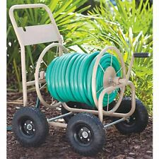 New listing Liberty 2Lrl2 Portable Garden Hose Reel Cart with 4 Wheels