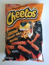 NEW FRITO LAY CHEETOS XXTRA FLAMIN' HOT CRUNCHY CHIPS FREE WORLDWIDE SHIPPING