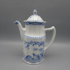 Furnivals England QUAIL BLUE Small Coffee Pot