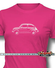 Fiat 600 2 Doors Coupe 1955 - 1969 T-Shirt for Women - Multiple Colors and Sizes