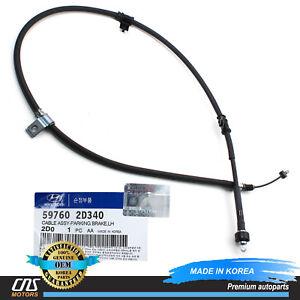 GENUINE Parking Brake Cable w/ ABS REAR DRIVER LH for 2004 Hyundai Elantra⭐⭐⭐⭐⭐
