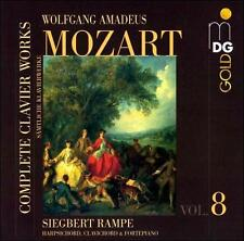 Mozart: Complete Clavier Works, Vol. 8, New Music