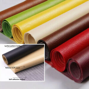 DIY Self Adhesive Leather Patch Leather Fix Repair Fabric Stick-on PU Leather