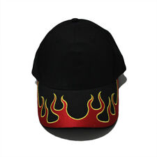 Casual Fire Flame Embroidery Hat Baseball Cap F1 Formula Racing Sun Outdoor