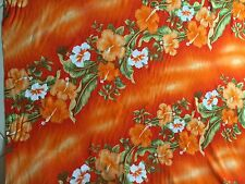 Hawaiian design fabrics 5 meters