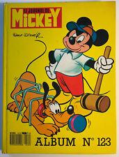 ALBUM LE JOURNAL DE MICKEY n°123 ¤ avec n°1789 à 1797 ¤ 1986 AVEC 3 POSTER