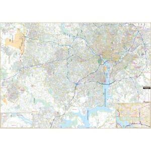 Fairfax Co & Northern Virginia Wall Map