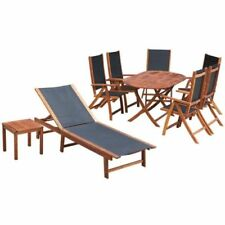 garden patio wood table chair sets for sale ebay rh ebay co uk