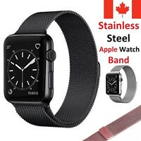 Magnetic Stainless Milanese Apple Watch Band Strap for Series 1 2 3 4 5 6 SE
