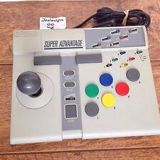 SNES Super Nintendo Advantage Arcade Stick/Manette/Controller Pal Royaume-Uni Travail