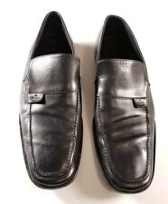Gucci Men's Black Leather Loafers Dress Shoes Made in Italy Size US 11E / EU 44E