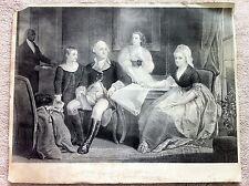The Washington Family print litho George Stinson 1871