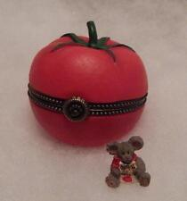 Boyds Treasure Box, Cherry'S Tomato With Big Boy Mcnibble