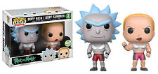ECCC 2017 FUNKO POP! RICK AND MORTY BUFF RICK AND BUFF SUMMER 2 PACK EXCLUSIVE