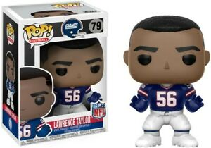 LAWRENCE TAYLOR (New York Giants) NFL Funko Pop #79 Blue Jersey (VAULTED)