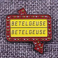 Beetlejuice Betelgeuse Enamel Pin Horror Movie Lapel Pin Halloween Retro