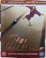 The Big Lebowski 20th Anniversary STEELBOOK (Limited Edition) 4K & Blu-Ray