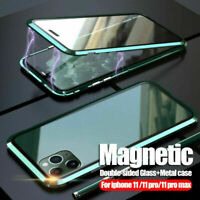 Hot Double-Sided Case for iPhone | 360 Magnetic Adsorption Metal Case
