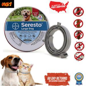 Dog Cat Collar Seresto 8 Month Flea & Tick Prevention Collar For Cats Dog Mosqui